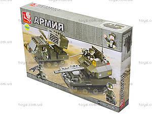 Детский конструктор «Армия», 403 деталей, M38-B0288, купить