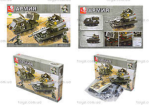 Детский конструктор «Армия», 403 деталей, M38-B0288