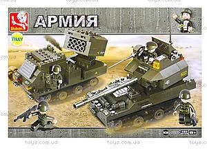Детский конструктор «Армия», 403 деталей, M38-B0288, цена
