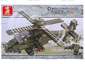 Конструктор «Военный вертолет», 204 детали, M38-B0298, фото