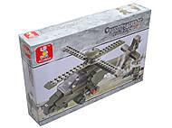 Конструктор «Военный вертолет», 204 детали, M38-B0298