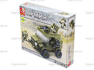 Конструктор «Армейский джип», 217 деталей, M38-B0299, купить
