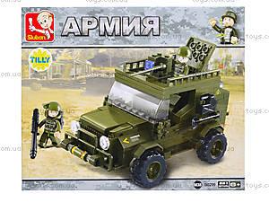 Конструктор «Армейский джип», 217 деталей, M38-B0299, цена