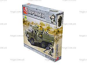Детский конструктор «Армия», 229 деталей, M38-B0301, купить