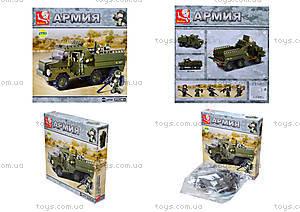 Детский конструктор «Армия», 229 деталей, M38-B0301