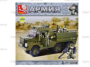 Детский конструктор «Армия», 229 деталей, M38-B0301, отзывы