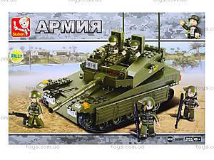 Конструктор «Танк», 344 деталей, M38-B0305, фото