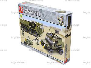 Конструктор детский «Армейская техника», 455 деталей, M38-B0307, купить