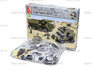 Конструктор детский «Армейская техника», 455 деталей, M38-B0307, фото