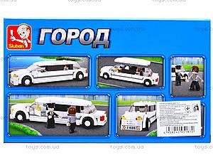 Конструктор детский «Лимузин», 140 деталей, M38-B0323, отзывы