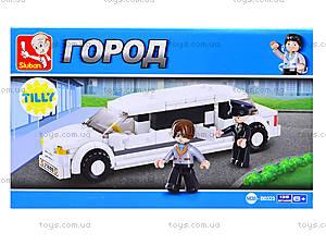 Конструктор детский «Лимузин», 140 деталей, M38-B0323, цена