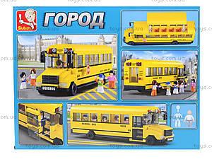 Конструктор «Автобус», 392 деталей, M38-B0506, купить