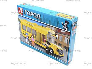 Детский конструктор «Школьный автобус», 218 деталей, M38-B0507, отзывы