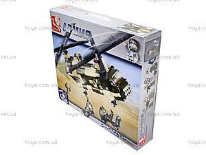 Детский конструктор «Военный вертолет», M38-B0508, цена
