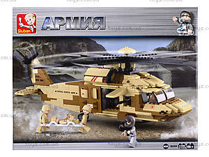 Детский конструктор «Армия», 434 деталей, M38-B0509, фото