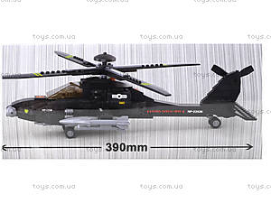 Детский конструктор «Военный вертолет», 230 деталей, M38-B0511, купить