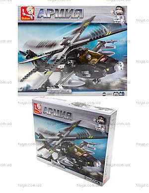 Детский конструктор «Военный вертолет», 230 деталей, M38-B0511