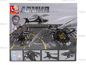 Детский конструктор «Военный вертолет», 230 деталей, M38-B0511, отзывы