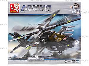 Детский конструктор «Военный вертолет», 230 деталей, M38-B0511, цена