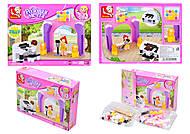 Конструктор для детей «Розовая мечта», 109 деталей, M38-B0521, купить