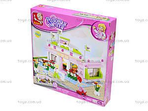 Детский конструктор «Розовая мечта», 282 деталей, M38-B0527, купить