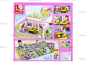 Детский конструктор «Розовая мечта», 282 деталей, M38-B0527, цена