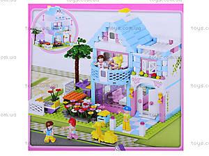 Конструктор для детей «Розовая мечта», 381 деталь, M38-B0535, купить