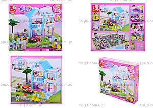 Конструктор для детей «Розовая мечта», 381 деталь, M38-B0535
