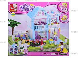Конструктор для детей «Розовая мечта», 381 деталь, M38-B0535, цена