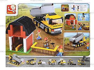 Конструктор для детей «Стройка на ферме», 384 деталей, M38-B0552, купить