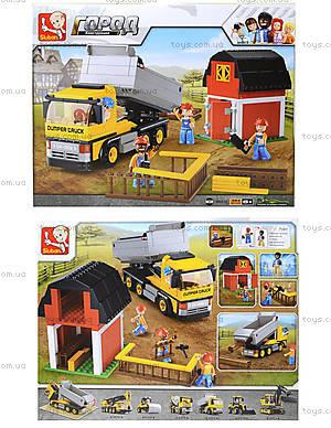 Конструктор для детей «Стройка на ферме», 384 деталей, M38-B0552