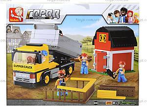 Конструктор для детей «Стройка на ферме», 384 деталей, M38-B0552, фото