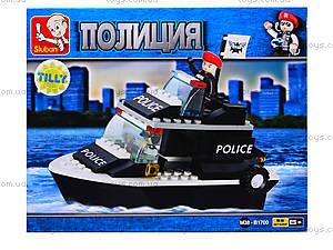 Детский конструктор «Военная полиция», 98 деталей, M38-B1700, цена