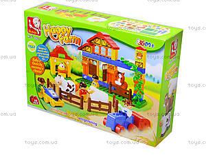 Детский конструктор «Ферма», 68 деталей, M38-B6019, купить