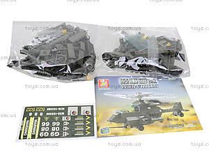 Конструктор детский «Сухопутные войска», 158 деталей, M38-B6200, фото