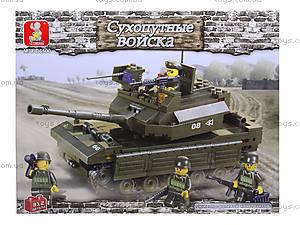 Детский конструктор «Сухопутные войска», 312 деталей, M38-B6500R, купить