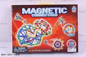Конструктор магнитный, 108 деталей, AQ-98
