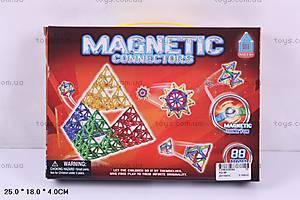 Конструктор магнитный, 88 деталей, AQ-99
