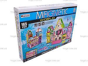 Конструктор магнитный «Волшебный замок», AQ-300