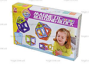 Детский конструктор магнитный для малышей, 3701, фото