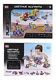 Магнитный конструктор «Цветные магниты», 2429, іграшки