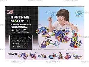Магнитный конструктор «Цветные магниты», 2429, фото