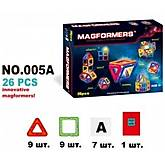 Конструктор магнитный MAGFORMERS 26 деталей, 005A, детские игрушки