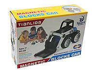 Конструктор магнитный «Машина» (6 деталей), 38012345, отзывы