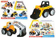 Конструктор магнитный Smart Builders, 386, магазин игрушек
