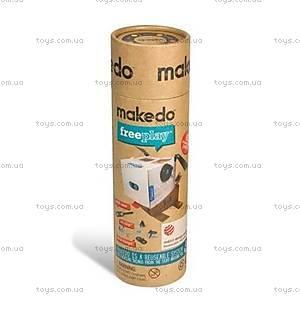Конструктор Makedo «Базовый комплект для творчества», 65 деталей, КТ01-002, отзывы