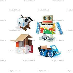Конструктор Makedo «Базовый комплект для творчества», 65 деталей, КТ01-002, цена