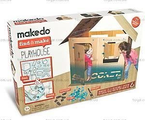 Конструктор Makedo «Подумай и сделай домик», 77 деталей, FM01-005