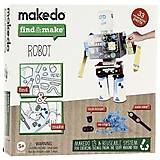 Конструктор Makedo «Подумай и сделай Робота», 33 деталей, FM01-002
