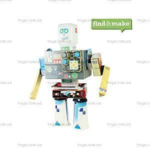 Конструктор Makedo «Подумай и сделай Робота», 33 деталей, FM01-002, детские игрушки